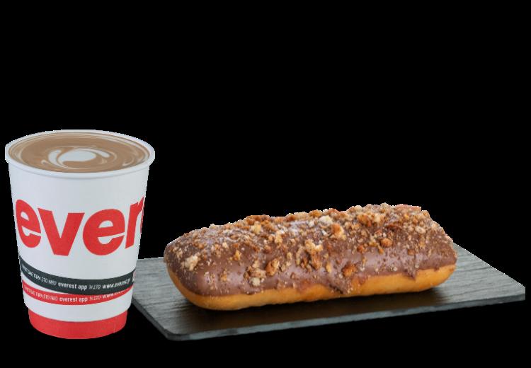 προσφορά καφές και Donut online delivery deals everest